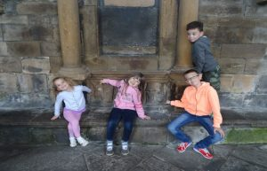 Young Marvels visit to Elgin Cathedral