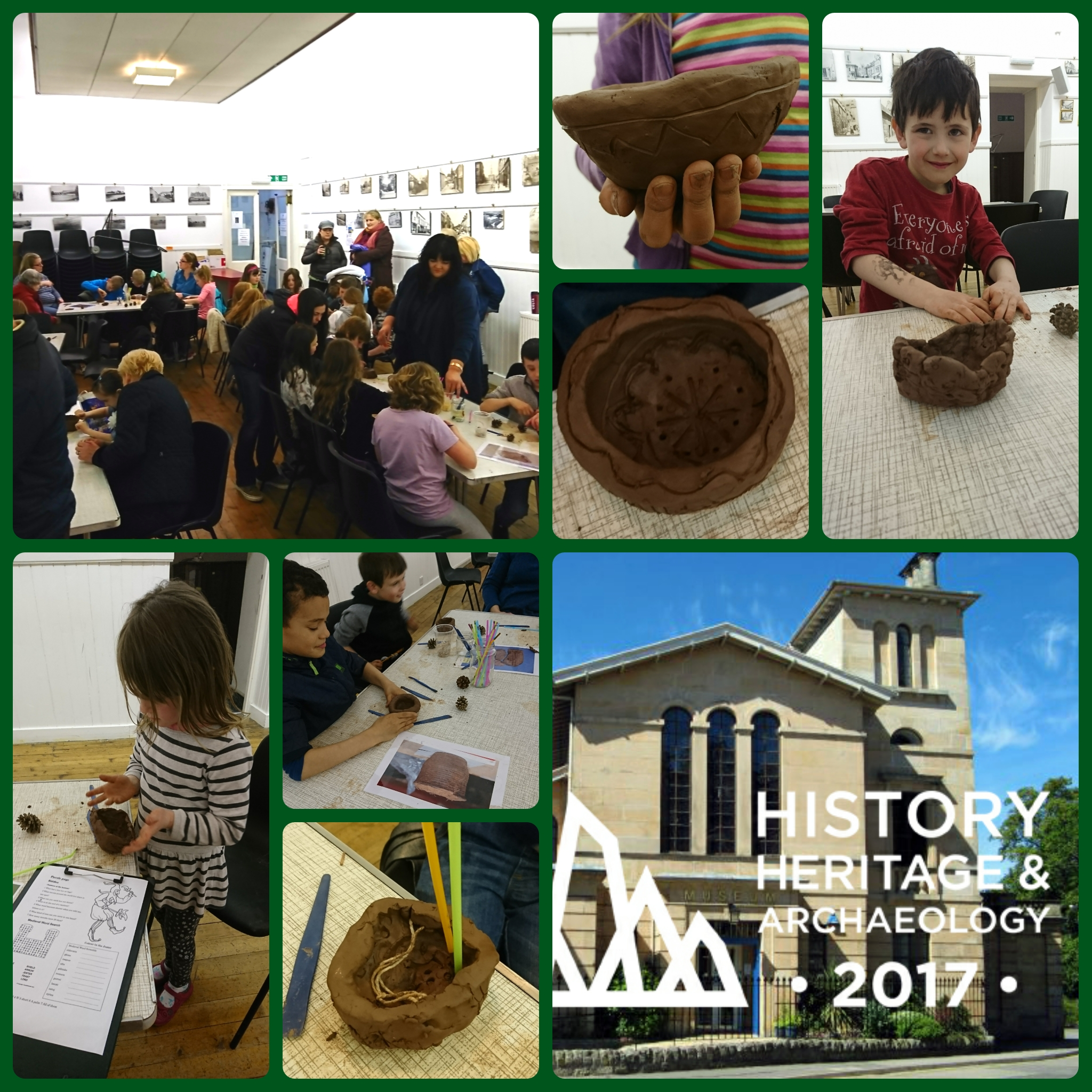 Prehistoric Pots activity