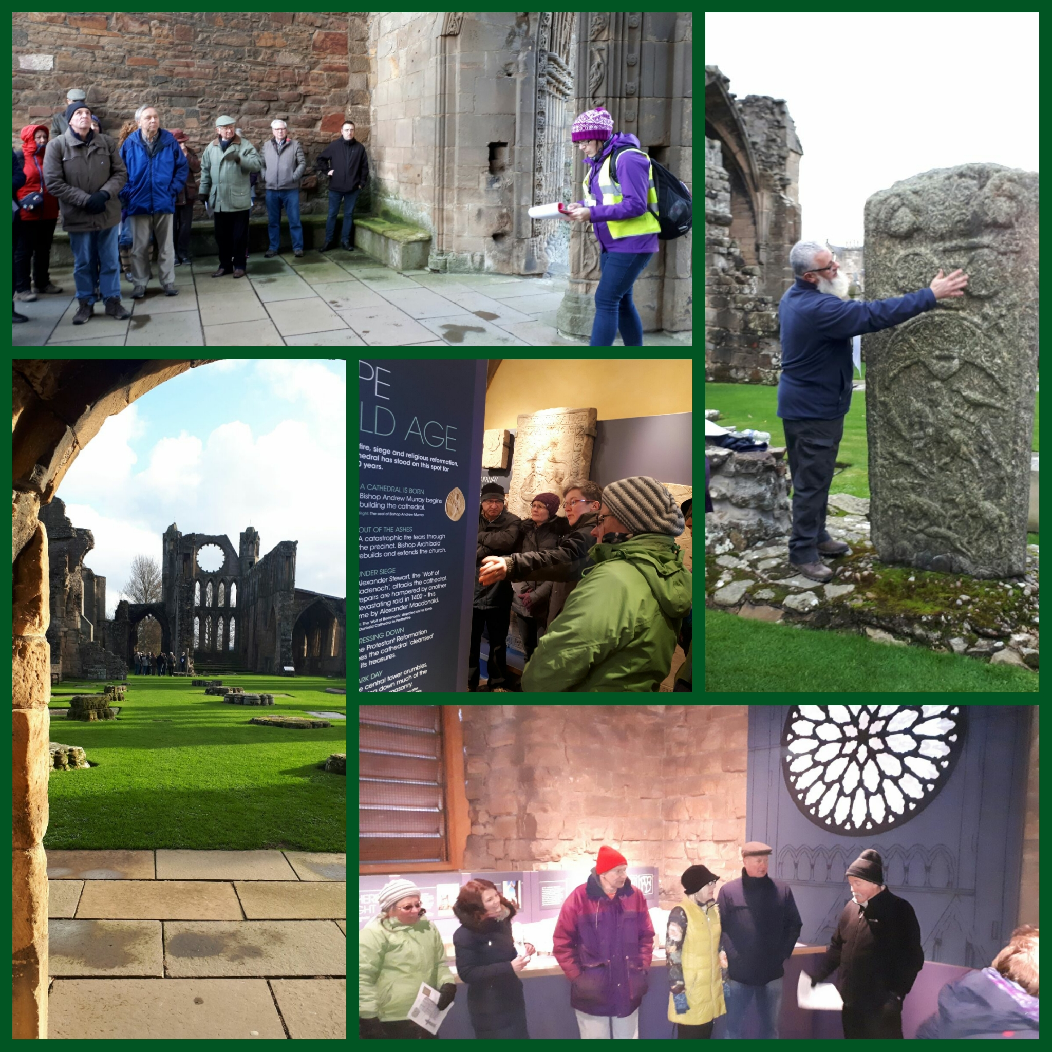 HHA tour of Elgin Cathedral