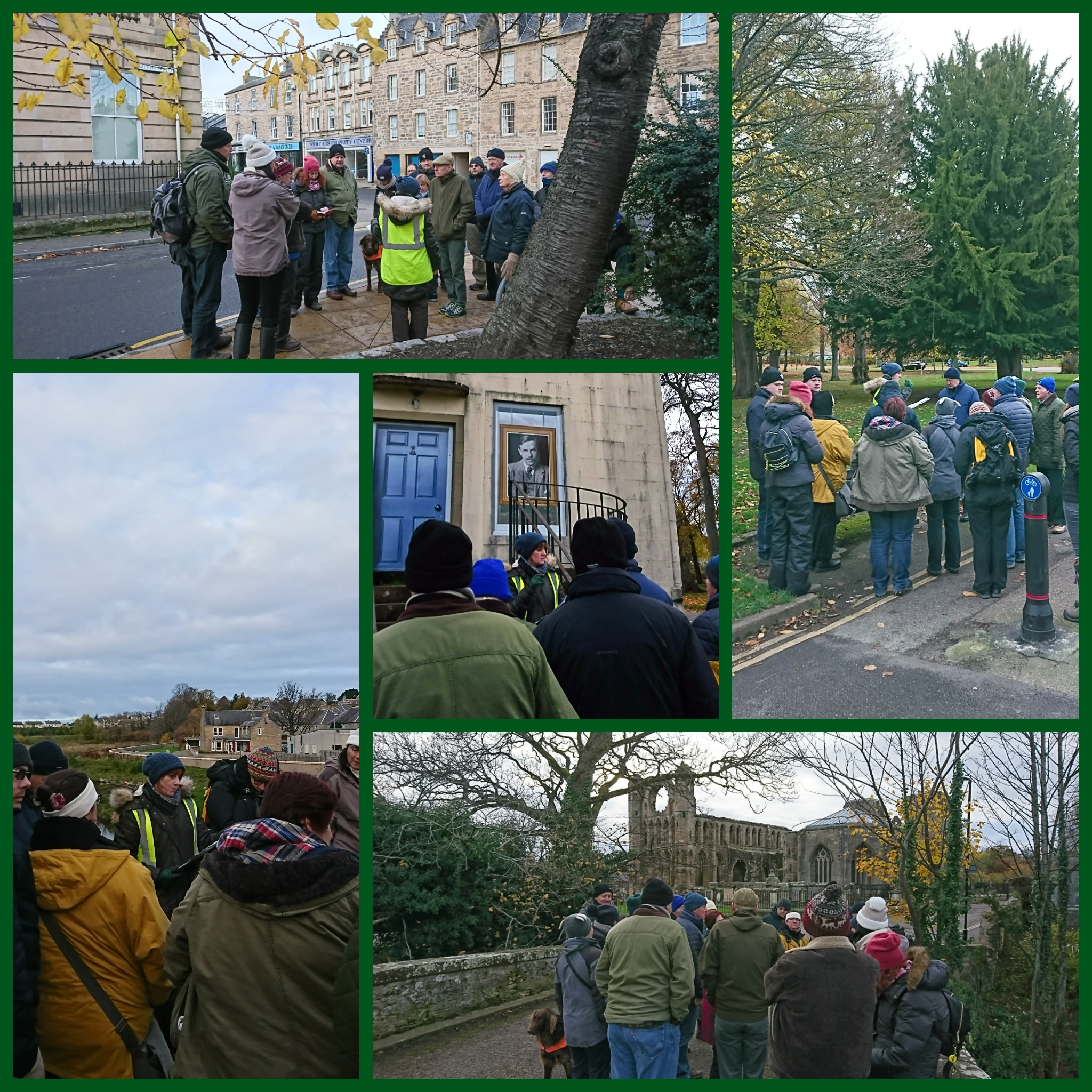 Incorporated Trades walking tour if Elgin