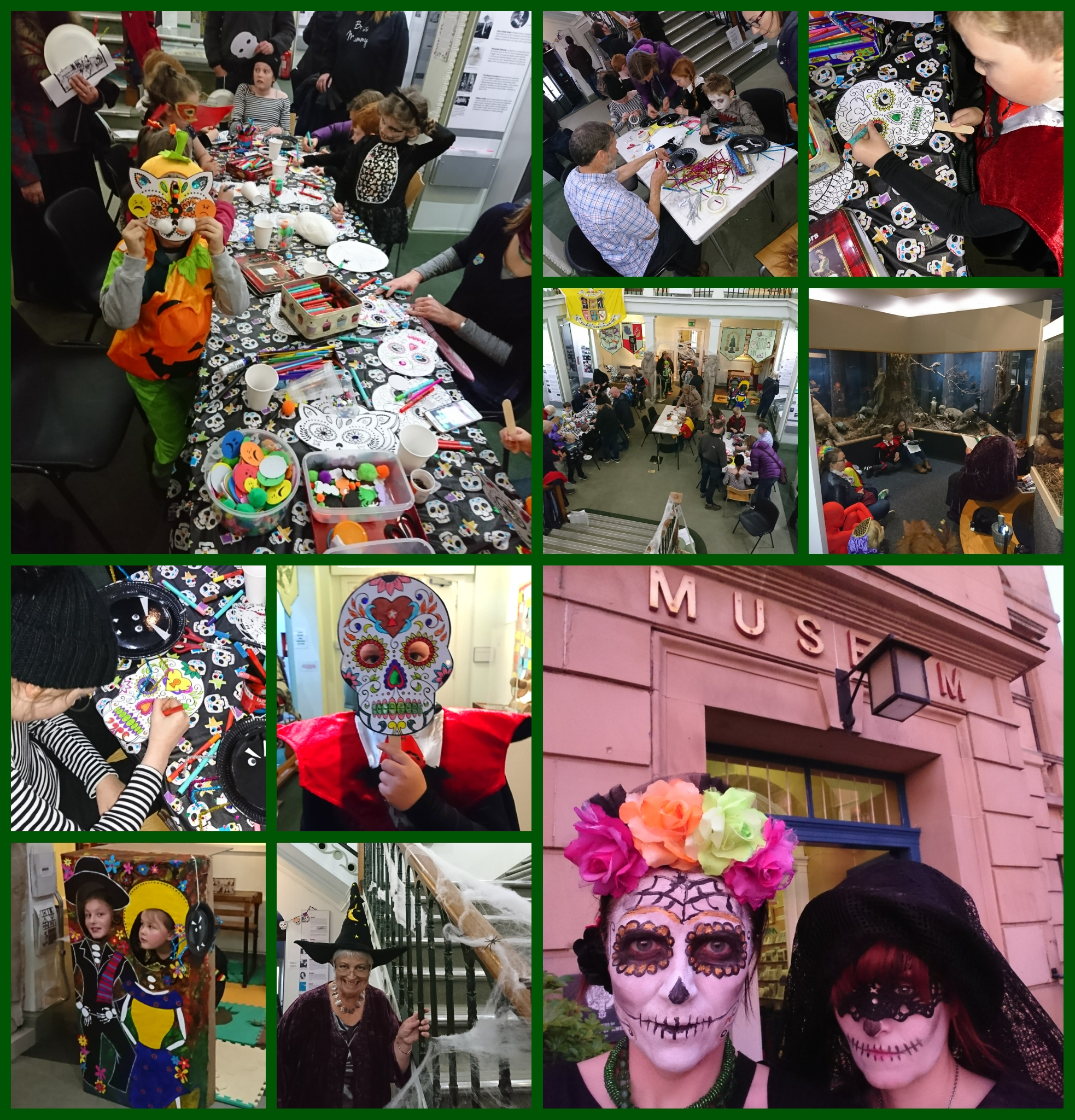 Late Night Spooktacular Dia de los Muertos event