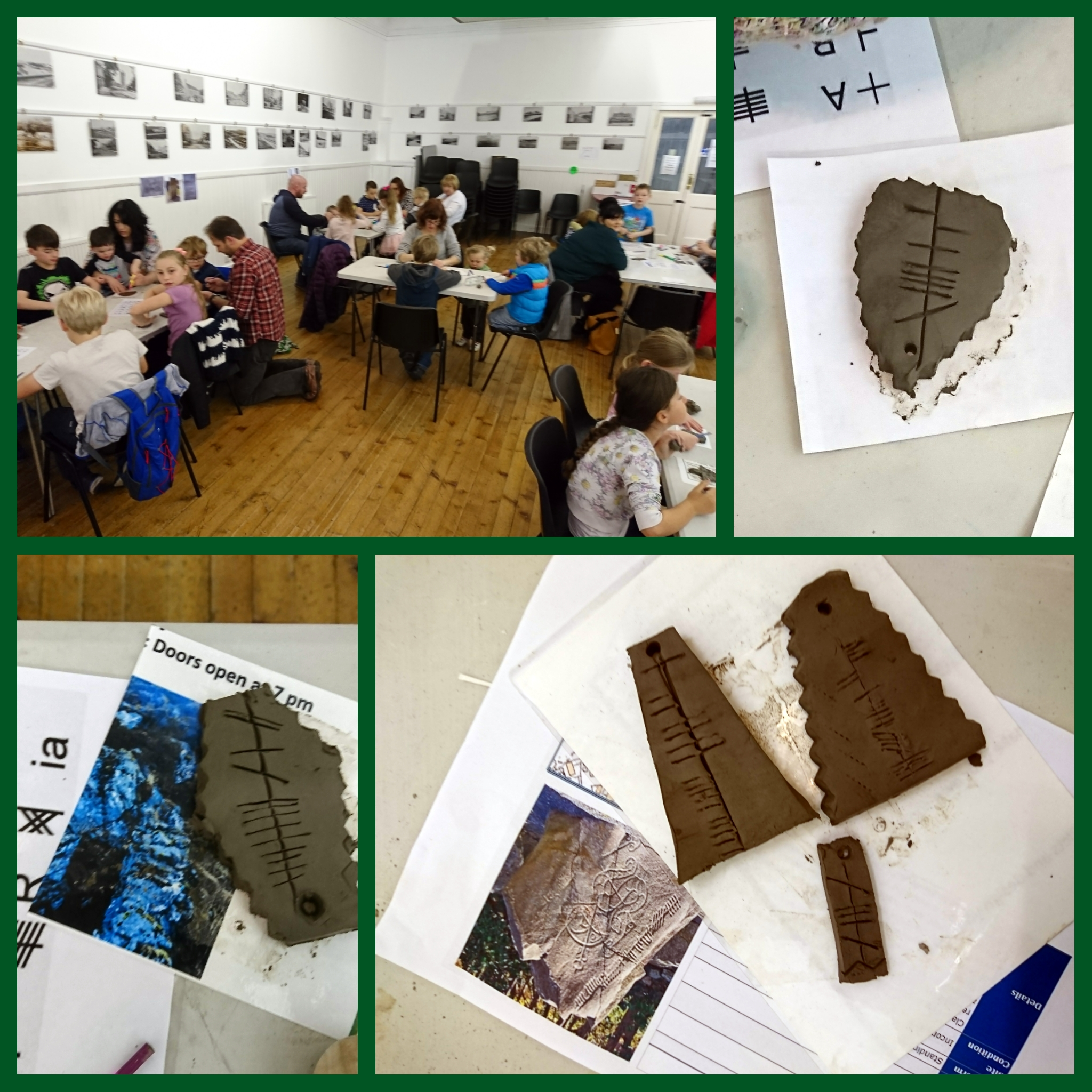 Ogham Children's craft session