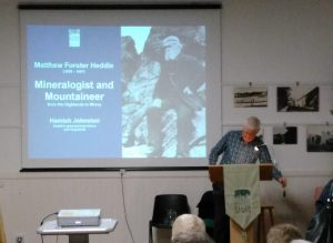Photo of lecture on Matthew Heddle