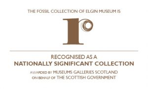 Elgin Fossil Collection Recognised Collection logo