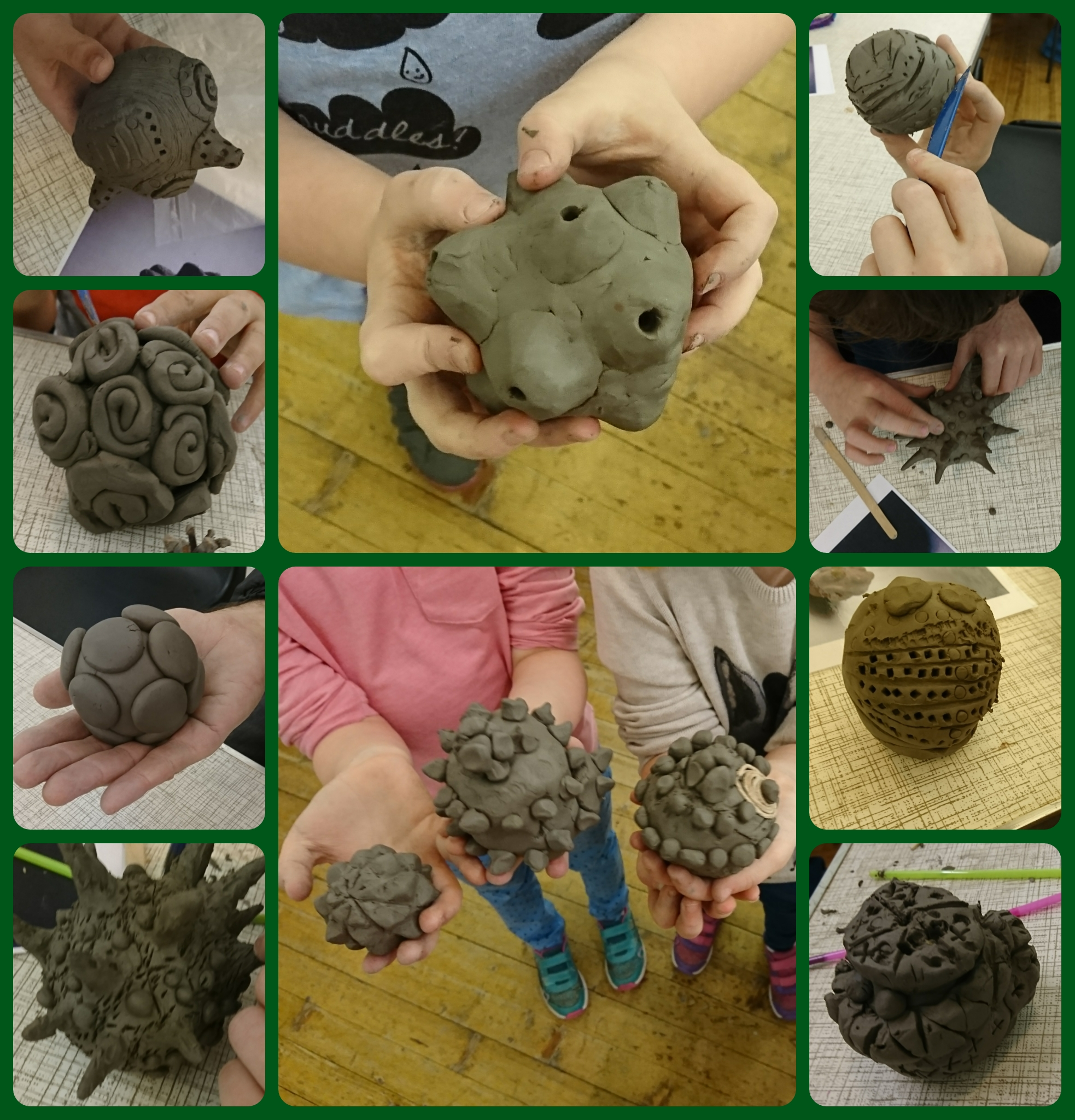 Carved Stone Balls Activity