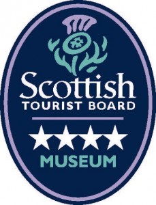 Scottish Tourist Board Logo 4 star Museum