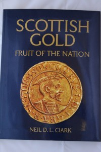 Front cover of book: Scottish Gold