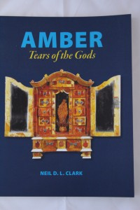 Front cover of book: Amber: Tears of the Gods by Neil D. L. Clark