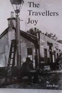 Front cover of book: The Travellers Joy: The Story of the Morayshire Railway by John Ross