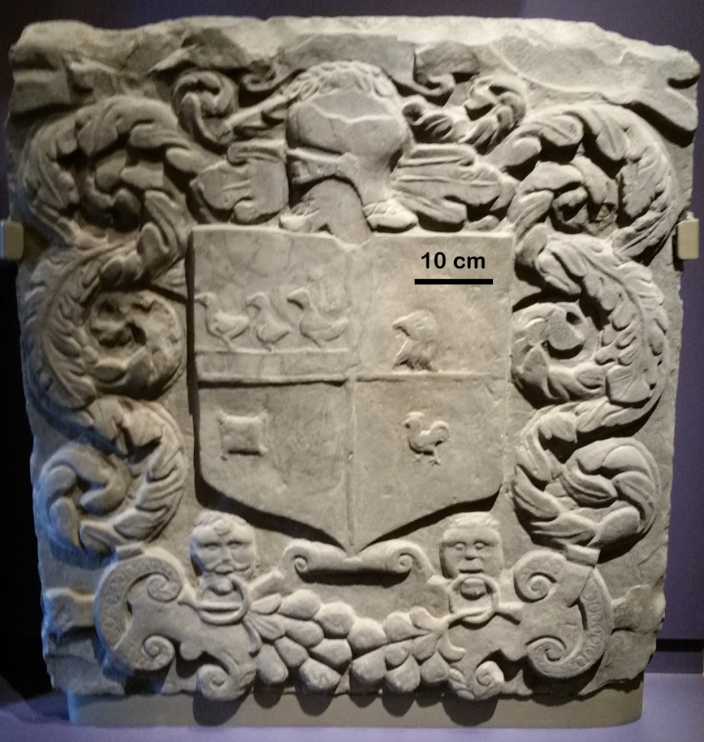 Elgin Cathedral Armorial Panel
