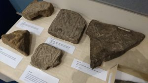 Pictish Stones from Elgin Museum