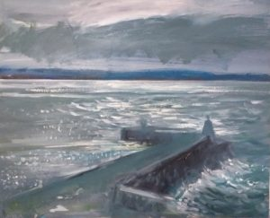 Art Exhibition: To the Lonely Seas and the skies - oil paintings by Julie Reynolds (BA, ECA) @ Elgin Museum