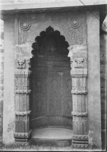 Mohammedan Niche from Gaur or Gauda, Bengal, India