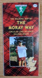 The Walkers' Map of the Moray Way